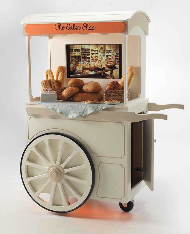 Living Wheels Jolly Trolley The Bakers Shop